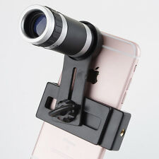 8X Zoom Camera Telephoto Telescope Lens Phone Clip For Various Cell Phone iPhone