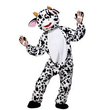 Deluxe Adult Fancy Dress Costume Panto Cow Book Week Animal Mascot Character