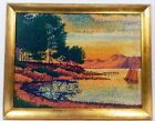 GEORGES PIERRE SEURAT 1881 WITH FRAME IN GOLDEN LEAF IN GOOD CONDITION