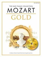 The Easy Piano Collection Mozart Gold Sheet Music Book