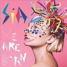 SIA We Are Born Bonus Track NEW CD Monkey Puzzle IMPORT LE TIGRE FEMALE SINGER