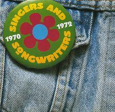 SINGERS - SONGWRITERS 1970 - 1972 / VARIOUS ARTISTS - 2 CD SET