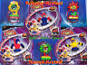 Kampfkreisel, Roboter Kreisel, Spinning Top, jeweils m Reißleine, Duell Kreisel