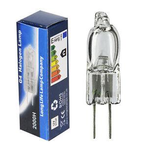 2 x G4 6v 20W Halogen Light Bulb Capsule G4 bulb 6v