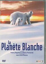 DVD ZONE 2 DOCUMENTAIRE--LA PLANETE BLANCHE / LES OURS BLANCS--RAGOBERT