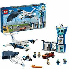 LEGO 60210 City Sky Police Air Base Station Control Tower Childrens Building Set