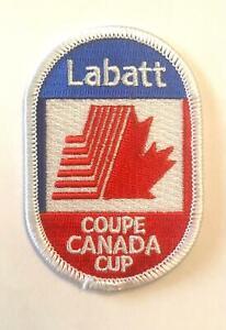 LABATT CANADA CUP/COUPE CANADA PATCH 1987-91