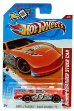 2012 Hot Wheels #183 Thrill Racers - Race Course Dodge Charger Stock Car