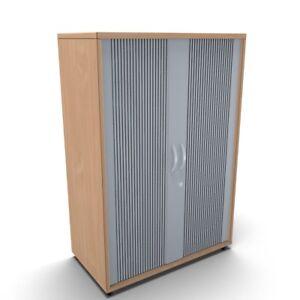 Rollladenschrank Mega 3 OH montiert 80cm breit Querrollladenschrank Aktenschrank