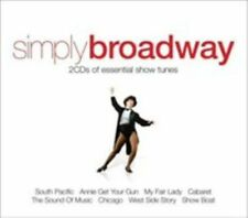 Simply Broadway by Various Artists (Cassette, Sep-2009, Union Square Music)