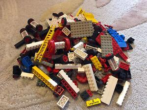 Lego Car Wheels Ambulance Trucks Parts Bricks Bundle 4
