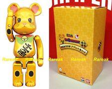 Medicom Bearbrick Tokyo Skytree 200% Chogokin Gold Lucky Cat Neko Be@rbrick 1p