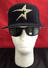 New Era 59Fifty MLB Houston Astros Black With Gold W/Whte Diamond Collection Hat
