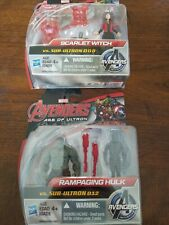 Marvel Age Of Ultron Rampaging Hulk, Scarlet Witch vs sub-Ultron Lot