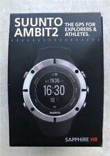 Top SUUNTO AMBIT2 Sapphire HR - GPS Sportuhr - Saphirglas - komplett und in OVP*
