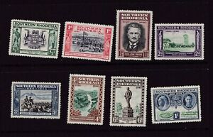 Southern Rhodesia 50th Anniversary British South Africa Co 1940 Stamps MNH Set