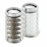 Cole  Mason Beehive Acrylic Salt and Pepper Shaker Set - Clear