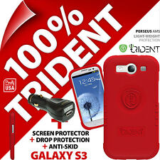 New Trident Perseus AMS Protective Case For Samsung Galaxy S3 + USB Car Charger