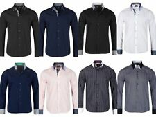 Modern Cotton Collared Casual Shirts & Tops for Men