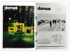 Domus n.420 1964 dir. Gio Ponti Architettura Rietveld XIII Triennale Enzo Mari