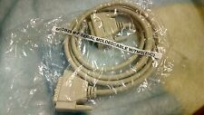 6ft DB25 Male to Female M/F Serial MoldedCable W/TMS (25C)