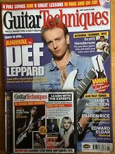 Guitar Techniques magazine and CD, May 2005