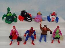 Mcdonalds Marvel Comics Spiderman 8pc Set 1995* Well Made