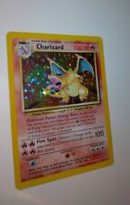 1999 Pokemon Charizard Base Set Unlimited Rare Holographic 4/102