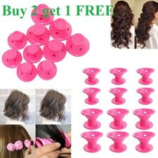 10 PCS Silicone No Heat Hair DIY Curlers Magic Soft Rollers Hair Care Tool
