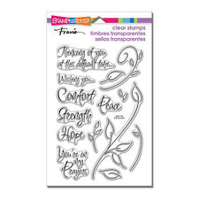 Stampendous Clear Stamps - Encouraging Words - Comfort, Strength, Hope, Peace
