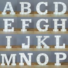 GENUINE 'UP IN LIGHTS' - The Original White Light Up Letters from Smiling Faces
