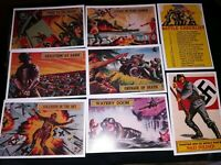 BATTLE SET OF REPRO CARDS. THESE ARE 52mm X 76mm FIRST EDITION BATCH.