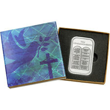 Ten Commandments 1oz .999 Fine Silver Bar (Religious Box)