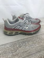 Nike Air Max 360 Dynamic Fit 2006 Men Size 10 Silver/White/Red 310908-011 Retro