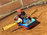 Clockwork Tin Plate Rowing Boat