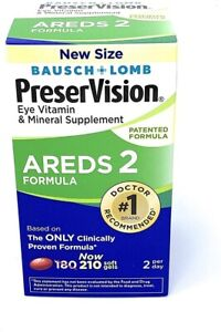 PreserVision AREDS 2 Eye Vitamin & Mineral Supplement (210 count) - Free Ship