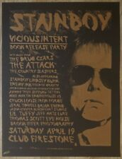 2008 Stainboy Vicious Intent Art Show - Orlando Silkscreen Poster by Enemy Ink