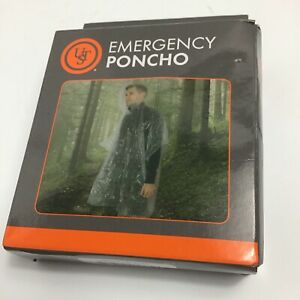 UST Emergency Clear Ultralight Protective Poncho  #20-310-CP