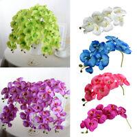 Kunstblume Kunstpflanze Künstliche Blumen Orchidee-Phalaenopsis Blumentopf Deko
