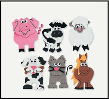 Farm Animal Magnetic Craft Kit for Kids Pig Horse Cow Sheep Dog Cat Abcraft