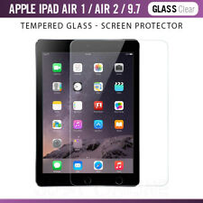 Genuine Premium Tempered Glass Film Screen Protector For Apple iPad Air 1/ Air 2