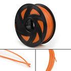 3D Printer Filament 1.75mm PLA 1kg For Drawing Print Pen MakerBot Orange UE