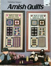 Amish Quilts Cross Stitch Pattern Design Canterbury Designs Leaflet 7
