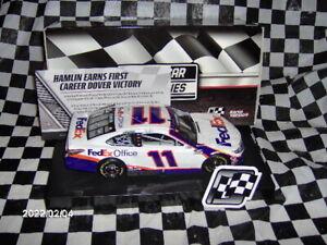 2020  Denny Hamlin # 11 FedEx Office Dover Win 1/24th.