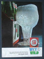 7up Christmas 1966 Vintage Print Ad