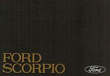 Ford Scorpio, orig. Bedienungsanleitung Betriebsanleitung, Ford-Werke Köln, 1985