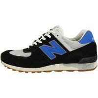New balance M 576 Tnf Homme Chaussures Fabriqué en Angleterre Baskets Noir Gris
