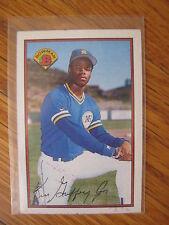 vintage 1989 Ken Griffey Jr Bowman 220 BASEBALL CARD Seattle Mariners rookie old