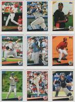 2009 Topps Baseball Team Sets **Pick Your Team**