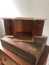 Jaeger Le Coultre Atmos Vintage Clock Original Wood Case / Display Box